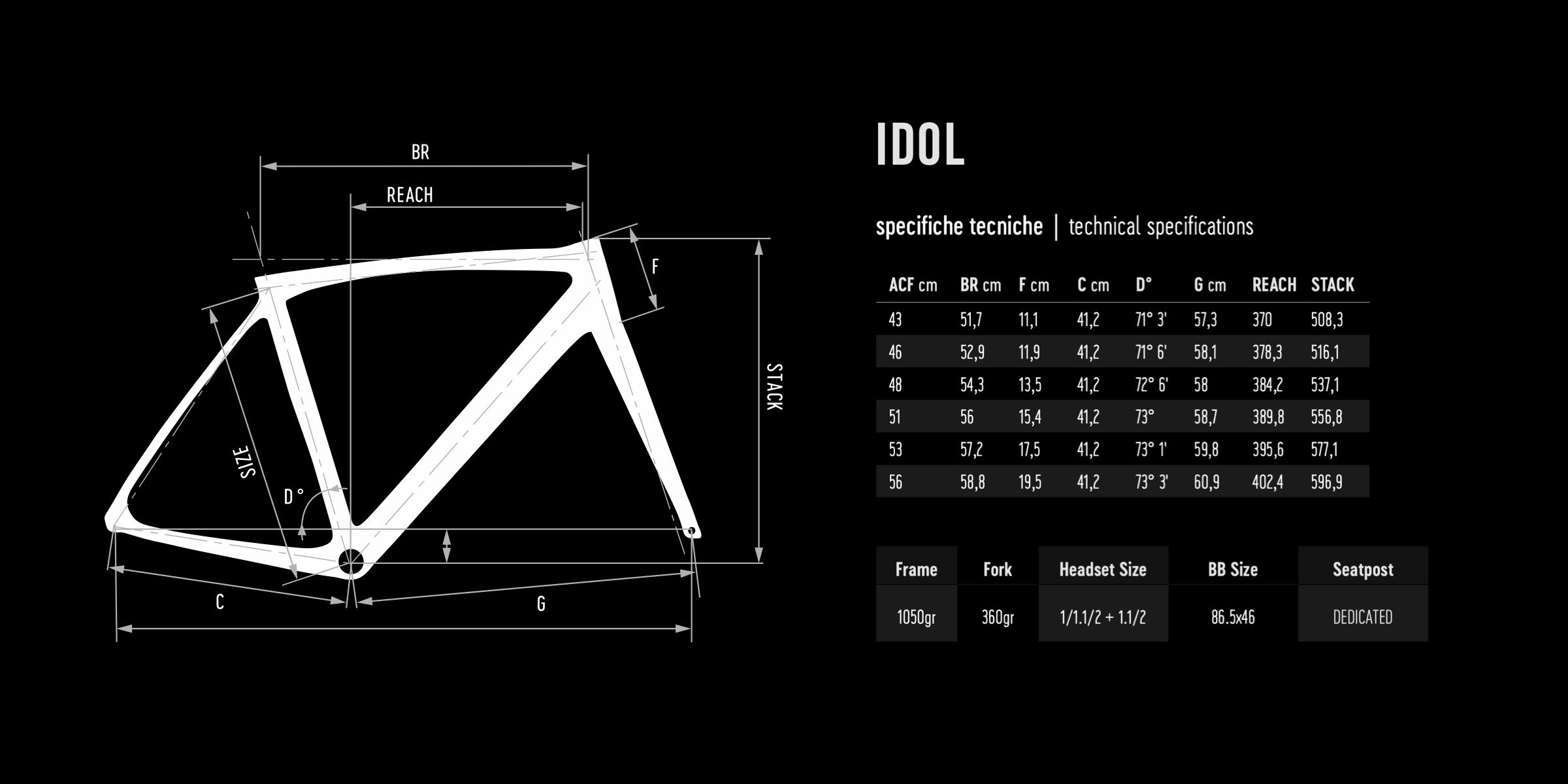 De Rosa geometry IDOL DISK 2021