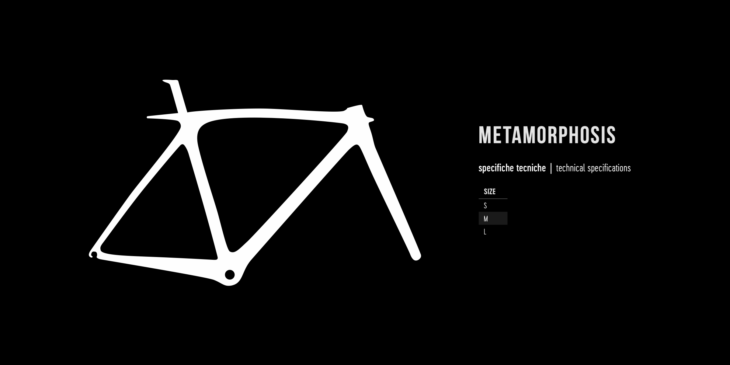 De Rosa geometry METAMORPHOSIS 2021